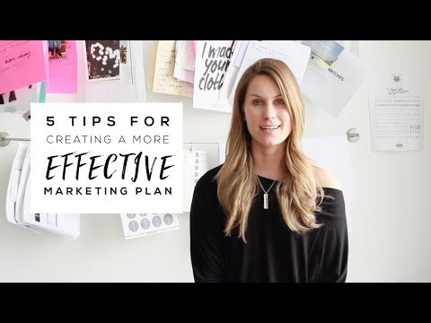 5 Tips for Creating a More Effective Retail Marketing Plan