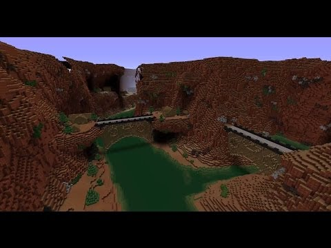 Horseshoe Bend in Minecraft [HD]