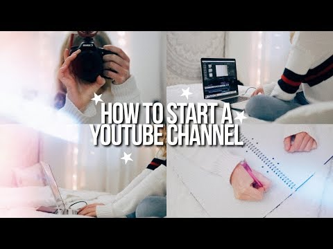 how to start a SUCCESSFUL youtube channel in 2018!!