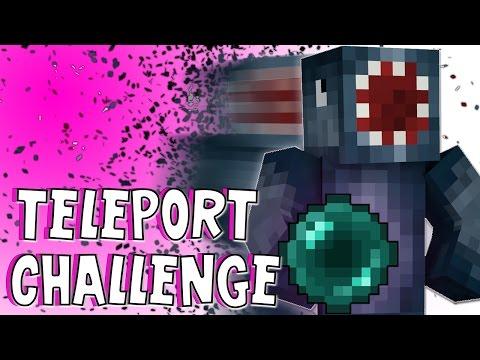 Minecraft Xbox - Teleport Challenge! Part 1