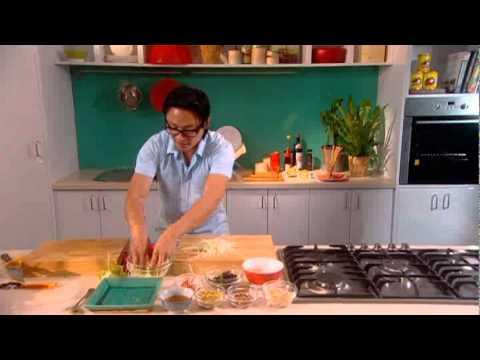 Luke Nguyen Baccarat: Green Mango Salad