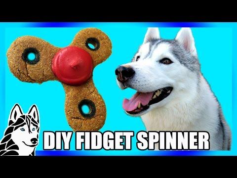 DIY FIDGET SPINNER DOG TREAT   DIY Dog Treats   Snow Dogs Snacks 73