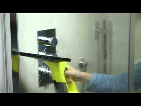 How to clean glass & tiles with the Kärcher Window Vac