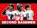 Top 10 Second Basemen In 2020 MLB Top Players Yankees DJ LeMahieu Braves Ozzie Albies And More