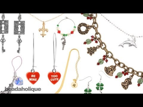 Just Bead It! Quick & Easy Jewelry: Charms