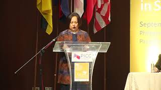 Amina Rasul-Bernardo speaks at ASEAN conference on peace and violent extremism