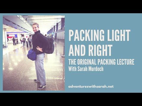 Xxx Mp4 Packing The Perfect Travel Bag With Sarah Murdoch 3gp Sex