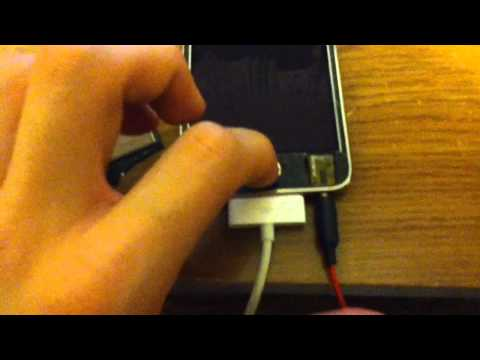 how to fix headphone jack for ipod touch 3rd/2nd generation