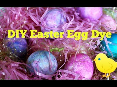 DIY Easter Egg Dye | Coloring Eggs with Shaving Cream!!