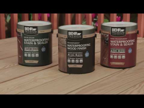 BEHR Stain & Finish Project How To's: Siding