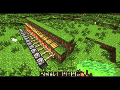 Minecraft Motion Sensor Lights Tutorial