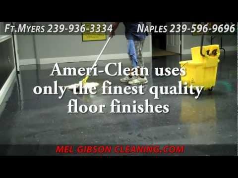 Vinyl Floor Maintenance, Waxing, Buffing, Polishing Naples