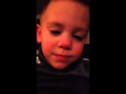 3yr old Autistic boy, speaks for the first time!!