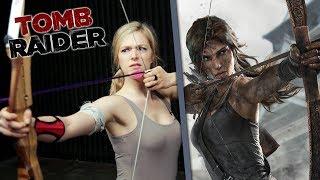 We Trained Like Lara Croft From Tomb Raider