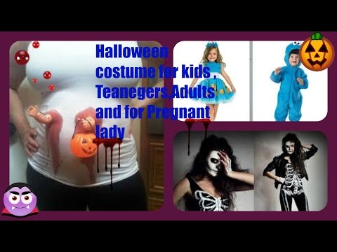 Halloween costume for kids , Teanegers,Adults and for  Pregnant lady