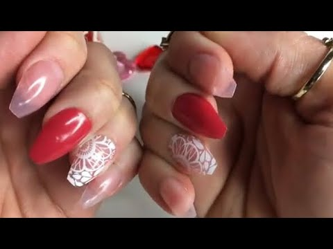 $1 QUICK AND EASY FAUX NAILS | DOLLAR TREE DIY