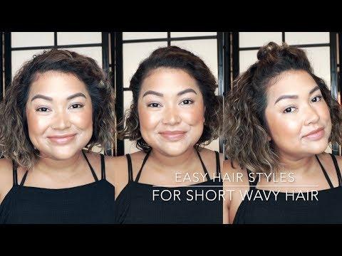 Short Wavy Hair Tutorial    The Savvy Beauty