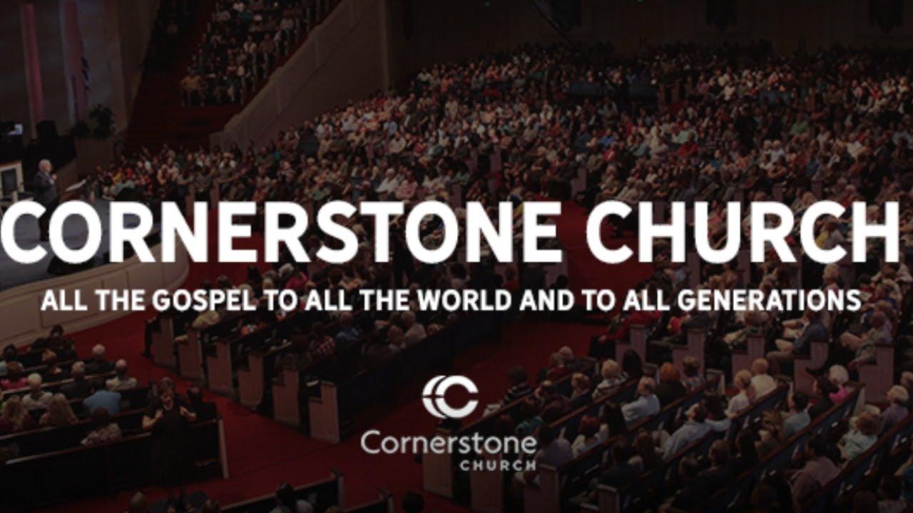 Cornerstone Church LIVE 8:30am on Sunday January 24th 2021