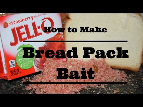 How to Make Carp Bait Out of Loaf Bread