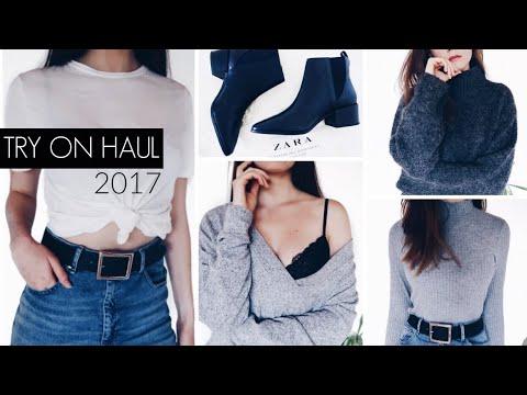 HUGE Fall and Winter Try On Haul 2017 / ASOS, Zara & h&m / Nika Erculj