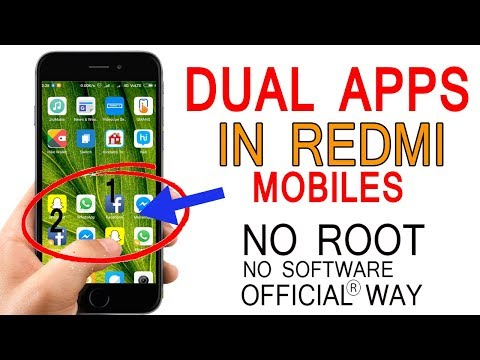 How To Use Dual Apps In Redmi Mobiles | No Root | No Software (HINDI/URDU)