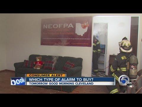 Smoke alarms put to the test
