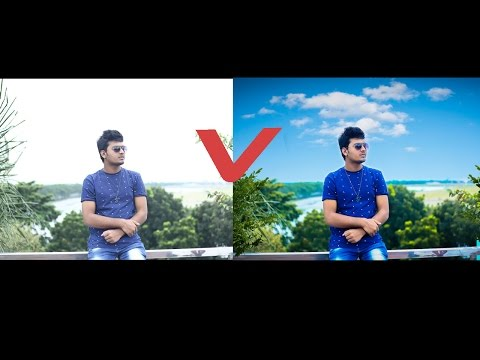 Photoshop CC Tutorial | How To Replace SKY &  Color Editing
