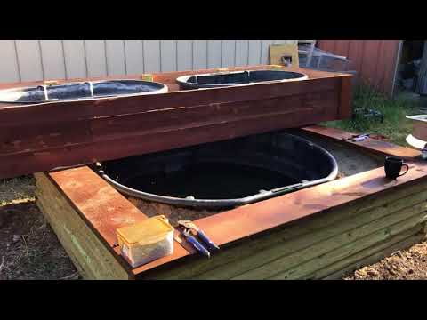 New 300 Gallon Aquaponics System - Part Four