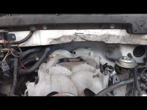 97 f150 4.6l Egr valve code also cleaning the throttle body