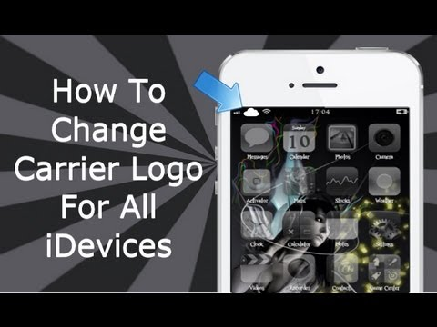 How To Change Carrier Logo's For iPhone, iPad & iPod Touch