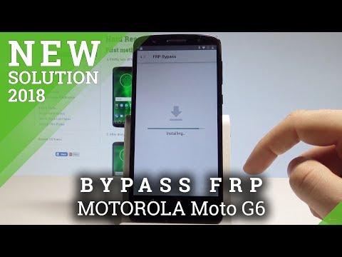 How to Bypass Google Account on MOTOROLA Moto G6 - Unlock FRP / Skip Google Verification