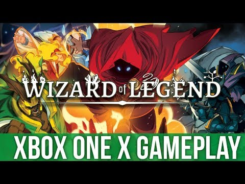 Wizard of Legend - Xbox One X Gameplay (Gameplay / Preview)
