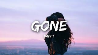 Babet - Gone (Lyrics)