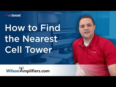 How To Find Your Nearest Cell Tower
