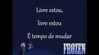 Livre Estou - Taryn Szilpman - Frozen: Uma Aventura Congelante - Disney - Letra