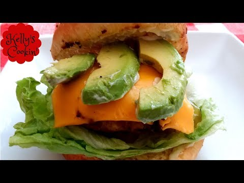 🍔Turkey Burger Recipe Done In The Air Fryer- Cook's Essentials🍔