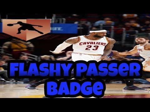 HOW TO GET FLASHY PASSER BADGE FAST NBA 2K17