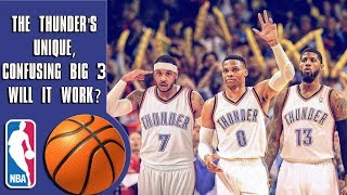 Carmelo Anthony traded to Thunder! OKC's unique, confusing big 3!