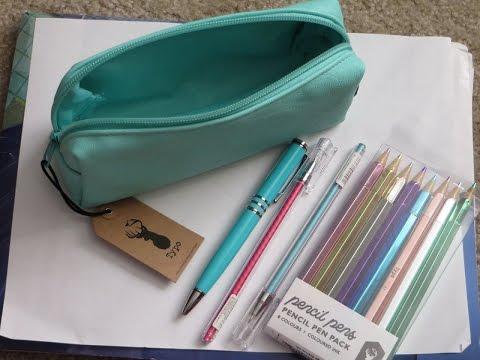 Typo Part II – Pens and Pencil Bag