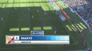Gol Richmond Boakye vs Getafe (Audio Radio MARCA)