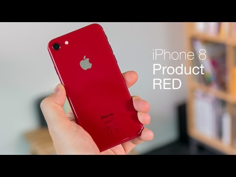 iPhone 8 (PRODUCT)RED unboxing and impressions