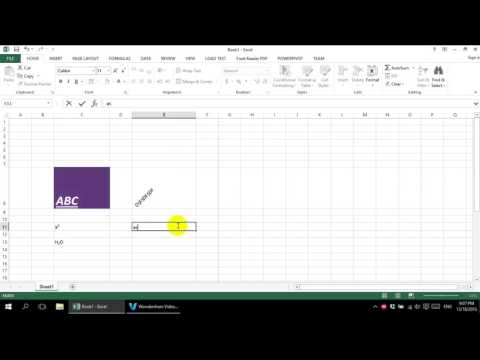 Excel 2013 Tutorial for Beginner - Alignment Group