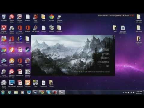 How to make the Windowed mode for Skyrim bigger!