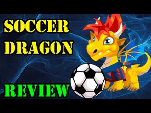 Dragon City SOCCER DRAGON How to Breed Combat Attacks and Level up Review