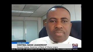 Central Bank Leadership - Business Desk on JoyNews (11-12-17)