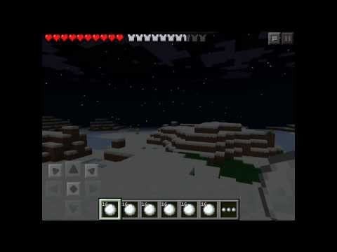 Minecraft pe the speed you can throw snowballs