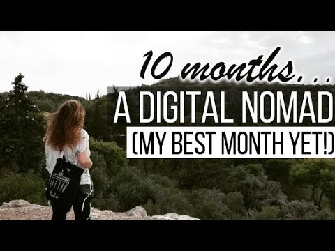 WHAT I EARN AS A DIGITAL NOMAD AFTER 10 MONTHS!