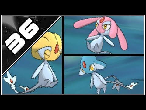 Pokemon Ultra Sun and Moon Part 36 - Catching Azelf, Mesprit, Uxie