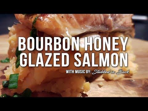How to make Bourbon Honey Glazed Salmon