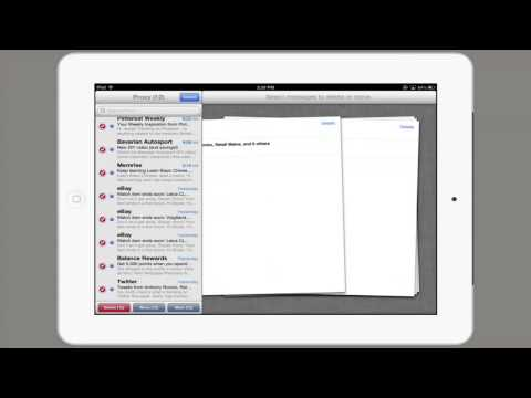 How to Erase All Email at Once on an iPad : Tech Yeah!